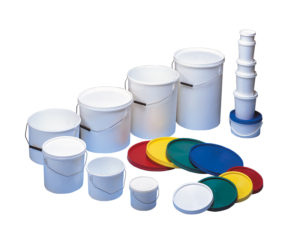 Niftilids with handle and white lid 1.0L