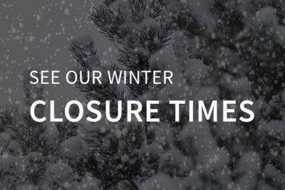 Winter Closure Times