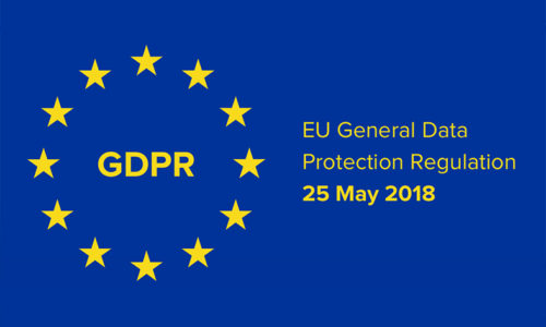 GDPR. The General Data Protection Regulation.