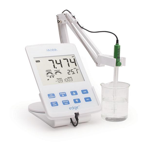 Hanna Edge single parameter pH Meter HI-2002-0