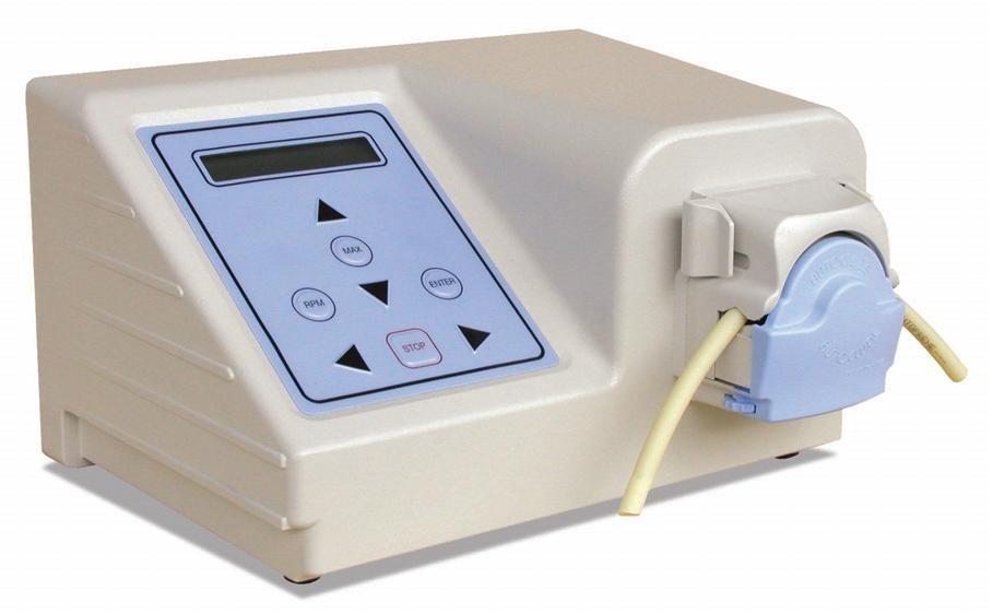 Autoclude AU UV EZ IP66 Easy tube load digital control peristaltic pump