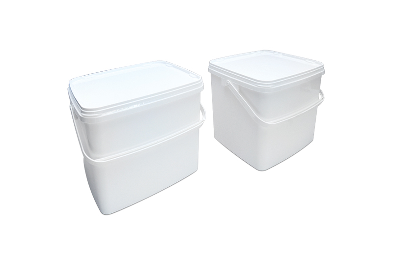 Maxcap 20L Rectangular Container with Plastic Handle