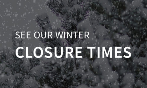 Winter Closure Times