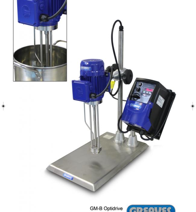 Greaves Model B lab mixer, 1-15 litres capacity