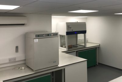 Requiring a lab fit-out?