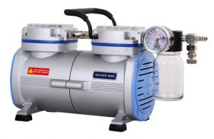 Rocker 400C PTFE Coated Chemical Resistant Vacuum Pump